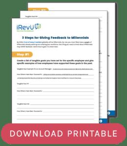 3 Step Millennial Worksheet