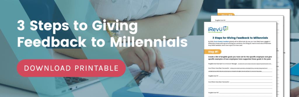Millennial Feedback blog image
